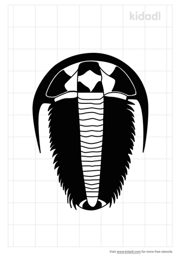 trilobite-stencil