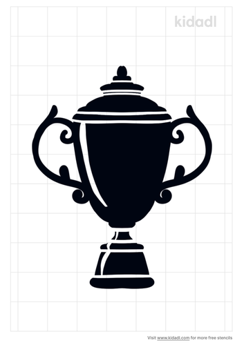 trophy-stencil