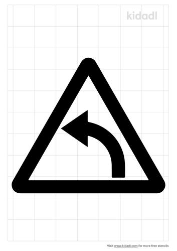 turn-arrow-stencil