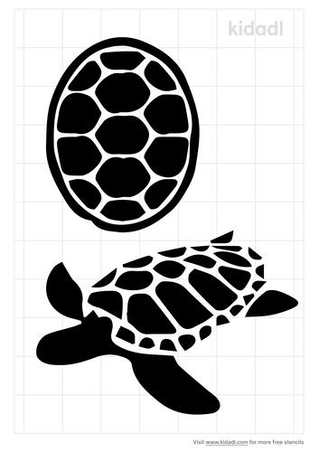 turtle-shell-stencil