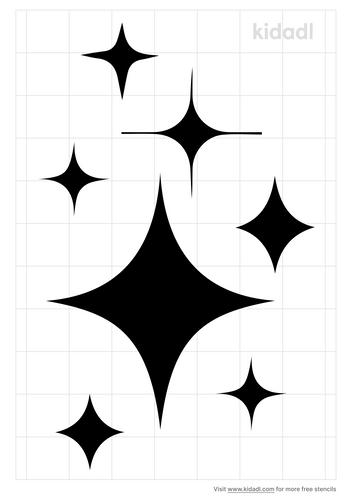 twinkle-star-stencil