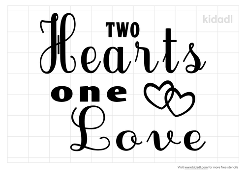 two-hearts-one-love-stencil