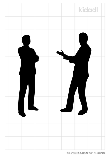 two-people-standing-facing-each-other-stencil