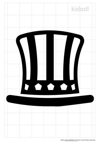 uncle-sam-hat-stencil