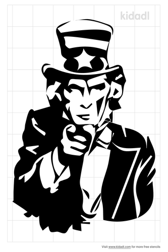 uncle-sam-i-want-you-stencil