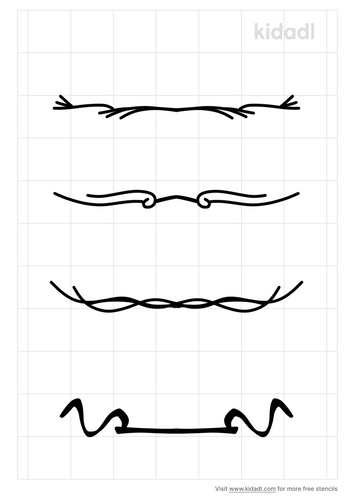 underline-stencil