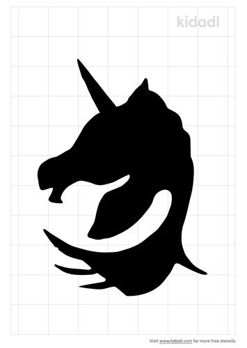 unicorn-hair-stencil