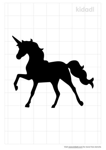 unicorn-stencil