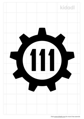 vault-111-stencil