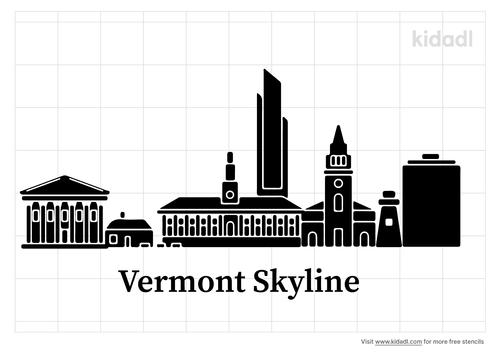vermont-skyline-stencil