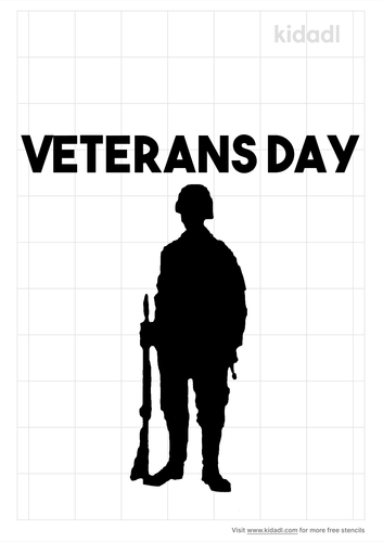 veterans-day-stencil