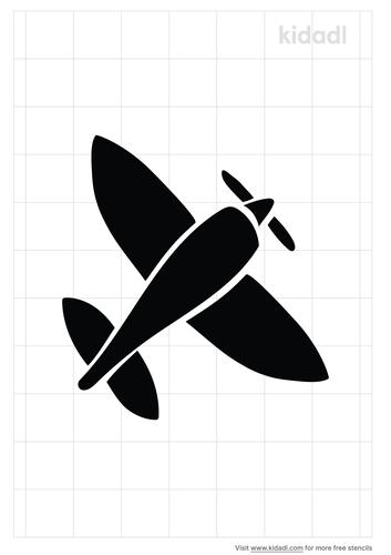 vintage-airplane-stencil