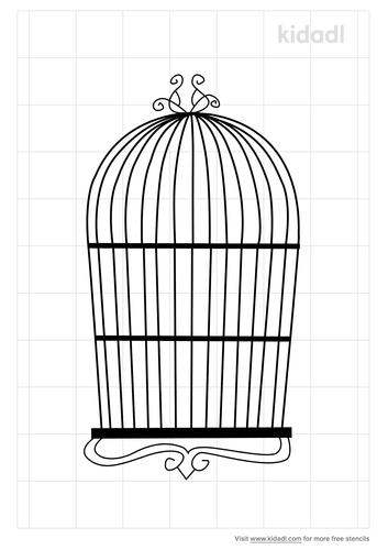 vintage-birdcage-stencil