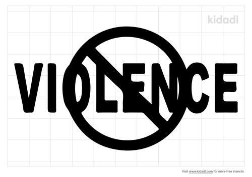 violence-stencil