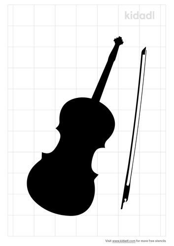 violin-stencil