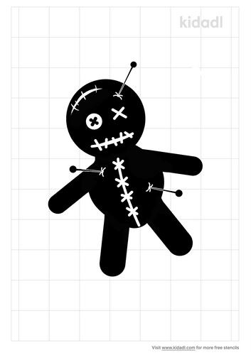 voodoo-doll-stencil