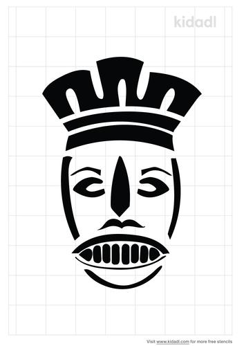 voodoo-mask-stencil