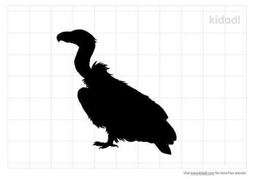 vulture-stencil