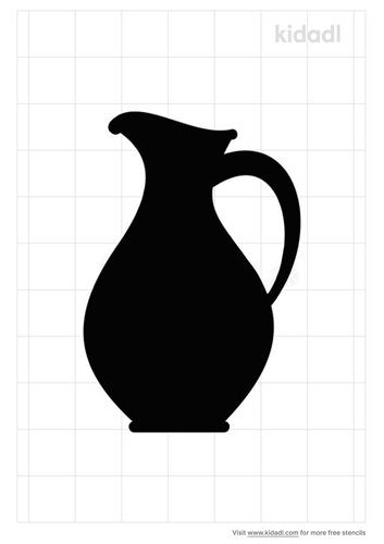 water-pitcher-stencil