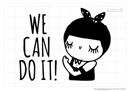 we-can-do-it-stencil