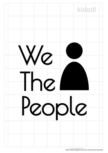 we-the-people-stencil