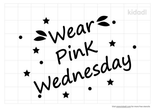 wear-pink-wednesday-stencil