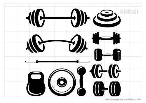 weights-stencil