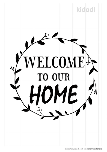 welcome-to-our-home-stencil