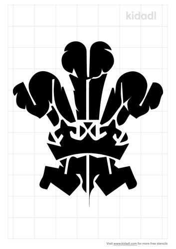 welsh-feathers-stencil