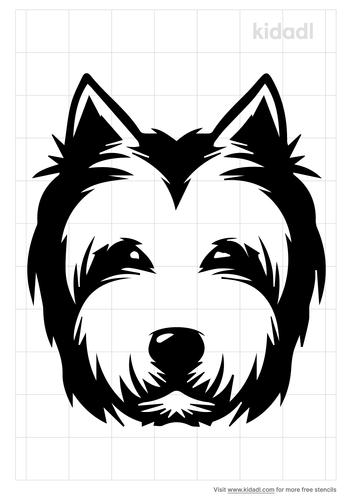 west-highland-terrier-stencil