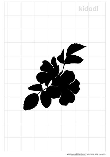 wild-rose-stencil