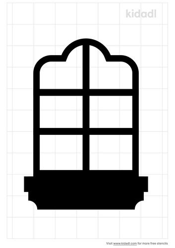 window-frame-stencil