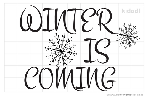 winter-is-coming-stencils