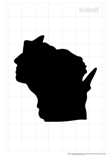 wisconsin-stencil