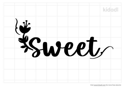 word-sweet-stencil
