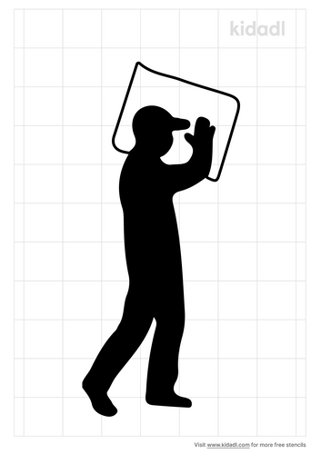 worker-stencil