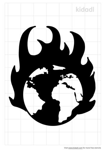 world-fire-stencil