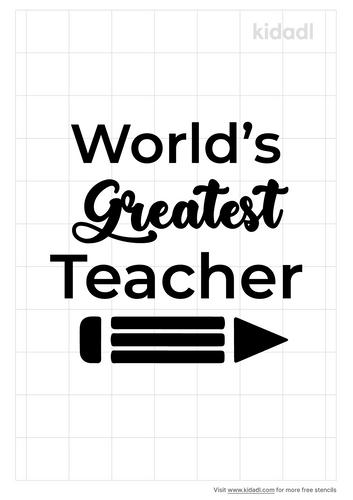 worlds-greatest-teacher-stencil