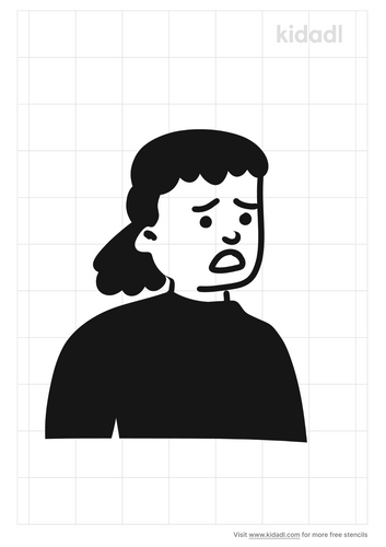 worried-girl-stencil