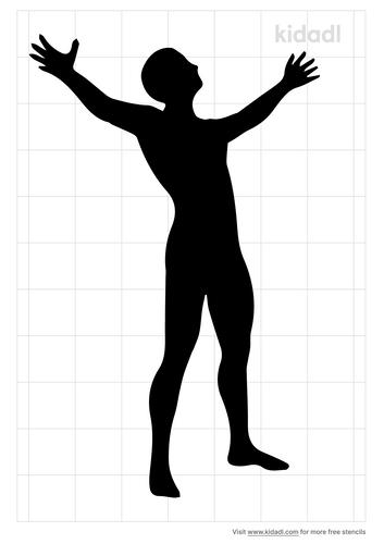 worship-man-stencil