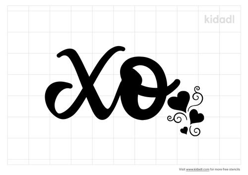 xo-stencil