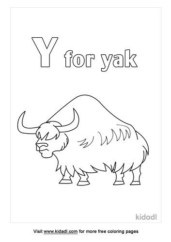 y-for-yak-coloring-page.png