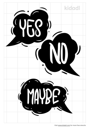 yes-no-maybe-stencil