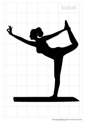 yoga-stencil