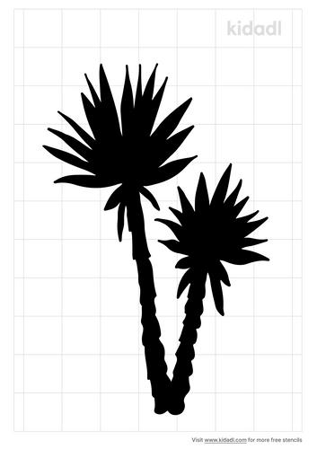 yucca-stencil